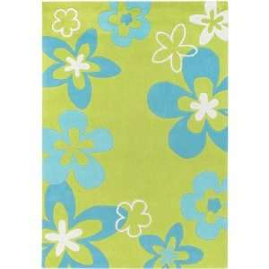Surya CHI1004 Chic Lime / Sky Blue Contemporary Rug Size