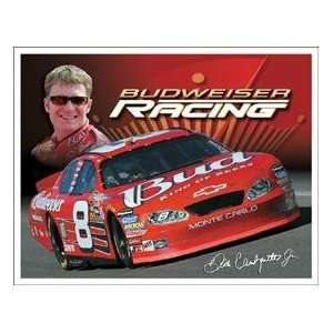 Dale Earnhardt Jr #8 Budweiser Racing Metal Sign *Sale