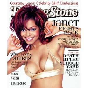 Janet Jackson, 1998 Rolling Stone Cover Poster by Mark