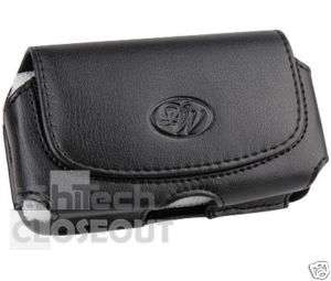 Leather Side Case Cover Pouch for ATT PCD QuickFire NEW