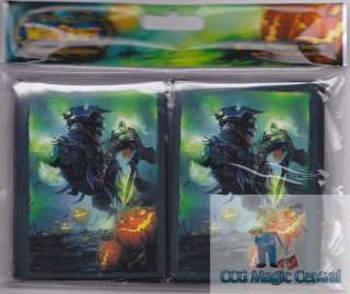 80 HEADLESS HORSEMEN DECK PROTECTORS CARD SLEEVES WoW WARCRAFT POKEMON