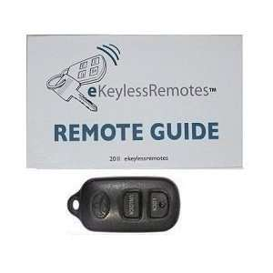 2004 2005 Toyota Echo Keyless Entry Remote Fob Clicker