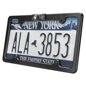 Audiovox CMOLF License Plate Frame w Built in Back Up Camera 130