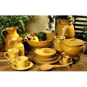 Intrada Italy Provenza Yellow Large Pitcher 9.5H Kitchen