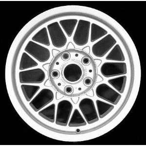 01 03 BMW 530I 530 i ALLOY WHEEL (PASSENGER SIDE)  (DRIVER RIM 16