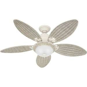Hunter Fan 21648 Core Ceiling Fans 54 Inch Textured White with 5 Cream