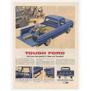 1964 Ford Custom Cab Pickup Truck Tough Gentle Ride Print