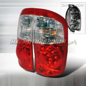 TOYOTA TUNDRA LED TAIL LIGHTS RED Automotive