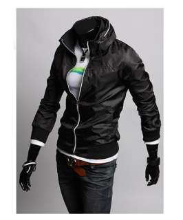 J99 New Stylish Slim Fit Mens Baseball Sports Jackets Coats Windproof