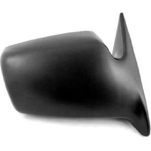 QP D2201 a Dodge Black Manual Passenger Side Mirror