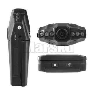 LED 270°2.5 TFT Color LCD Car DVR Camera Night Audio Video