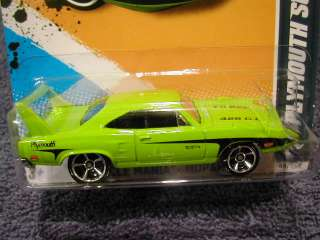 HOT WHEELS MUSCLE MANIA MOPAR 12, #8/10, 70 PLYMOUTH SUPERBIRD. NEW