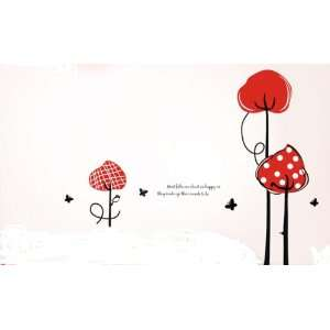 Bigbvg Easy Instant Home Decor Wall Sticker Decal   White