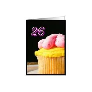 Happy 26th Birthday muffin Card Toys & Games