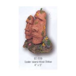 Blue Ribbon Pet Products Resin Ornament   Easter Island