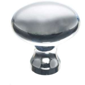 II Collection 1 1/4 Polished Chrome Worden Cabinet Egg Knob M369