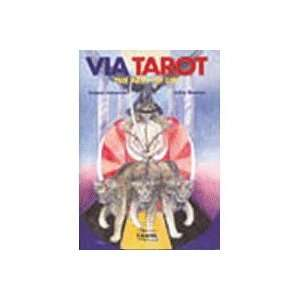 Via Tarot Deck and Book Set Toys & Games