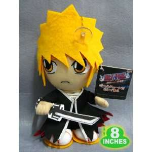 Plush   Bleach   8 Soft Doll Figure   Ichigo Toys