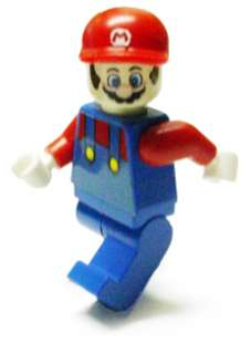 Custom Lego Super Mario Bros World Galaxy Wii Minifig