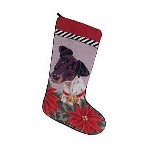 Smooth Fox Terrier Christmas Stocking