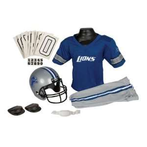 Detroit Lions NFL Youth Helmet and Uniform Set by Franklin