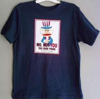 nwt PAUL FRANK Julius Monkey Baby Toddler Boys Blue t shirt Uncle Sam