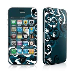 Midnight Garden Design Protective Skin Decal Sticker for Apple iPhone