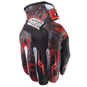 Answer Racing Ion Gloves   Large/Red/Black Automotive