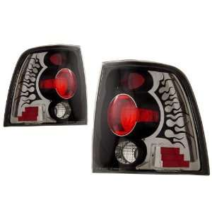 2003 2007 Ford Expedition KS Black Tail Lights Automotive