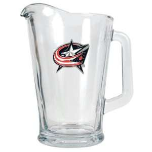 Columbus Blue Jackets NHL 60oz Glass Pitcher   Primary