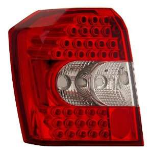 2007 2010 Dodge Caliber Led Tail Lights Red/clear