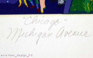 Melanie Taylor Kent Chicago Michigan Avenue Remarque Original Signed