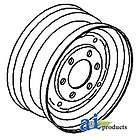 Ford / New Holland Rim, Front Wheel A C5NN1015A NAA(JU