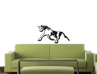 Wall Vinyl Decal Sticker PEGASUS UNICORN HORSE KIDS 12
