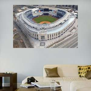 MLB New York Yankees Aerial Stadium Vinyl Wall Graphic Decal Sticker