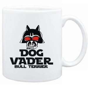 Mug White  DOG VADER  Bull Terrier  Dogs