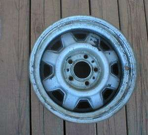 FORD RANGER BRONCO II STEEL WHEEL 15X6,,,5 ON 4.5 cm