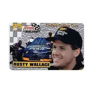 Card 25u Platinum Series Rusty Wallace (Miller   Genuine Draft) USED
