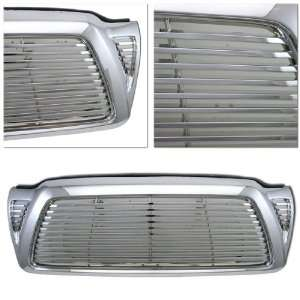 05 09 TOYOTA TACOMA FRONT HOOD UPPER GRILLE CHROME Automotive