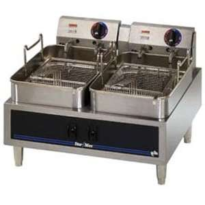 Star Mfg. 530TD Fryer Countertop Electric Dual Fry Pot 2 15 Pound