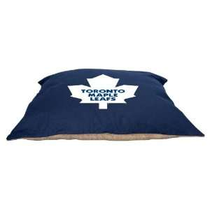 Toronto Maple Leafs 27x36 Plush Pet Dog Bed / Large Pillow