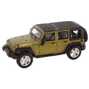 Atlas HO RTR 2007 Jeep Wrangler Unlimited, Green Toys & Games