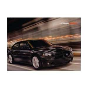 2007 DODGE CHARGER Sales Brochure Literature Book