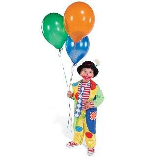 One Step Ahead Toddler & Kids Clown Halloween Costume SM 18 24 MOS.
