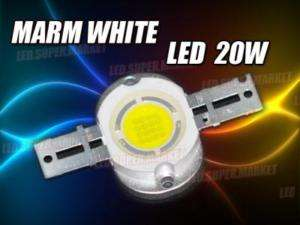 20W Cool White High Power 1000LM LED Lamp Light 14V