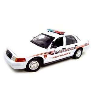WEST WARWICK POLICE CAR FORD CROWN VIC 118 MODEL