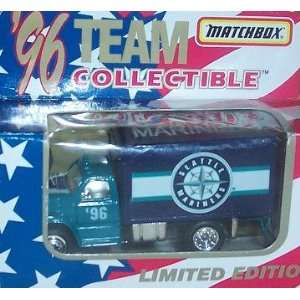 Seattle Mariners 1996 Matchbox Truck 1/64 Scale Diecast