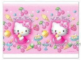 Sanrio Hello Kitty Birthday Party Table Cover Cloth NEW