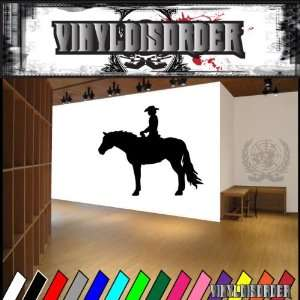 Cowboy Love NS002 Vinyl Decal Wall Art Sticker Mural