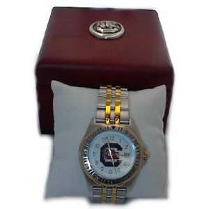 South Carolina Gamecocks Watch Mens Sil/Gld W/Box Sports